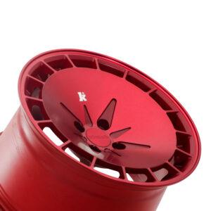 KM16 Metallihohto punainen